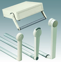 Tilt/Swivel Bail Arms for Portable Instrument Enclosures