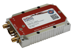 NuPower™ 12A01A Power Amplifier minimizes heat generation.