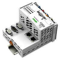 750-8208 PFC200 Series Controller features PROFIBUS DP Master interface.