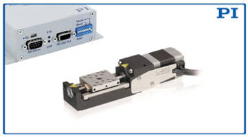 L-402 Linear Positioning Stage comes with crossed roller bearings.