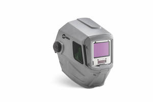 T94 Series Welding Helmets come with aluminum heat shield and silver shell