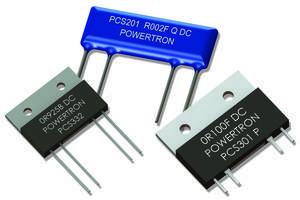 Power Current Sensors enable high-precision measurements.