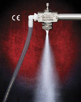 Siphon Fed Atomizing Spray Nozzle features stainless steel construction.