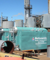 Nationwide Boiler Inc. Keeps Plant Running with Five (5) Superheat Steam, Trailer-Mounted Rental Boilers