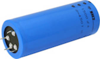 299 PHL-4TSI Capacitors feature insulated cylindrical aluminum case.