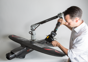 RS4 Scanner allows user to scan deeply into difficult-to-reach cavities.
