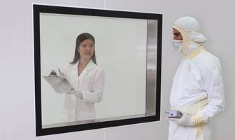 Framed or Frameless Cleanroom Windows