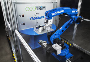EcoTrim Workcell with Ultrasonic Cutting Technology Reduces Operating Costs and Improves Trim Quality