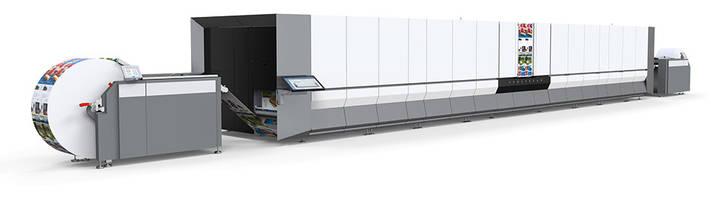 Océ ProStream Series Inkjet Press with 1200 dpi resolution.