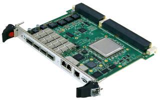 SWE540 6U OpenVPX 40 Gigabit Ethernet Switch supports multiple OpenVPX profiles.