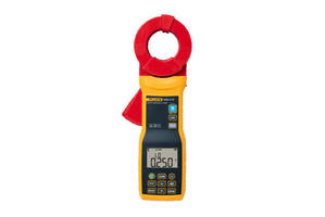Fluke 1630-2 FC Stakeless Earth Ground Clamp performs automatic data recording.