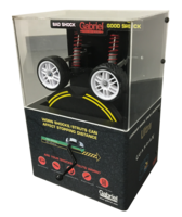 Point of Purchase Displays provide information on shocks and struts.