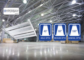 Hyperbay LED Luminaires offered in 95W, 130W and 185W versions.