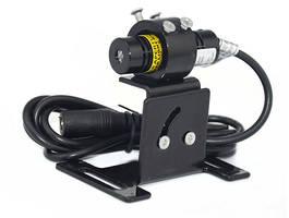 Crane Warning Laser Light features adjustable U-bracket.