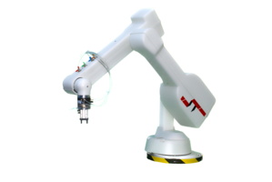 ST R17HS Robotic Arm uses state-of-the-art brushless servomotors.