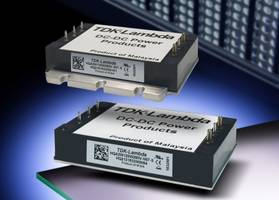 HQA85 Series DC-DC Converters feature 270 kHz switching frequency.