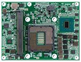 PCOM-B642VG COM Module offers faster 3-D and video playback.