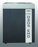 Electronic Media Destroyer Crushes and Impregnates Data Storage Media and Meets Din Level E-4 of Less Than 30mm^2