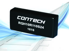 RQH Series Railway DC/DC Converters feature remote on/off.