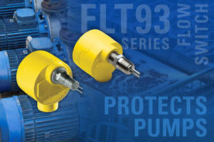 Flow Switch Protects Pumps from Dry Running Conditions in Muni Water Systems & Industrial Wastewater Treatment