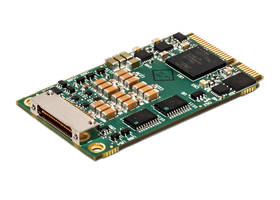 ARINC 429 Mini PCI Express® Cards feature application programming interface.