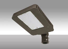 LED Slim Area Lights are available in straight and knuckle mounting options.