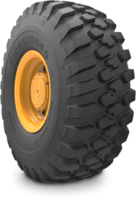 VersaBuilt™ Tires are made of tough tread compound.