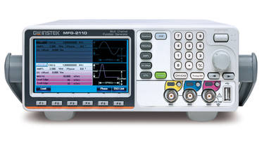 MFG-2000 RF Function Generators come with 100kHz power amplifier channel.