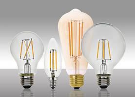 MaxLite LED Filament Lamps deliver vintage look.