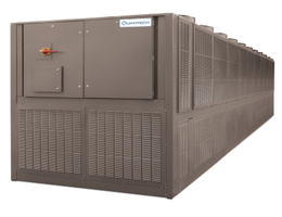 QTC4 Air-Cooled Screw Chillers come with microchannel-type condenser.