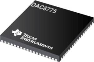 DAC8775 Converter's Design is thermally optimized.