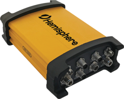 Vector™ VR1000 Rugged GNSS Receiver provides accuracies of up to 0.01 degrees.