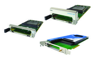 AdvancedMC FMC Carriers feature 16GB of 64-bit wide DDR-4.