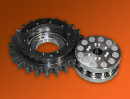 Geared Bearing uses roller pinion system.