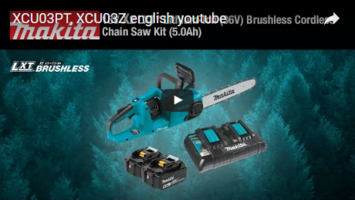 XCU03Z Chain Saw is equipped with extreme protection technology.