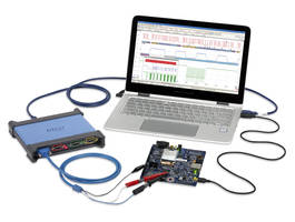 PicoScope 4444 Oscilloscope features intelligent probe interface.