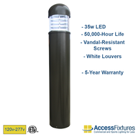 VENU Bollard Lights offer CRI of 70.