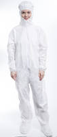 LiquidGuard Cleanroom Apparel is made of microporous material.
