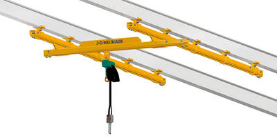 C Rail and Light Crane Systems are designed to use in hazardous areas.