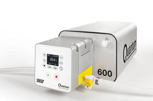 Quantum Peristaltic Pump features ReNu SU technology cartridge.