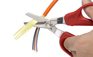 Fiber Optic Stripper and Kevlar Scissors are made of high carbon tool steel.