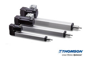Industry-Leading Thomson PC Series Electromechanical Linear Actuators Now Available with Factory Integrated Servo Motors