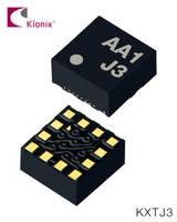 KXTJ3 Accelerometer features built-in voltage regulator.