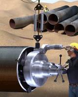 Pipeline Beveling Tool Preps Large Diameter Pipe for Welding