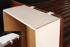 Secure Corrugated Displays on Square-Edge Fixtures with New Power Wing ClipT