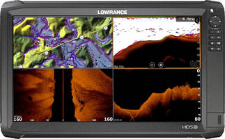 Lowrance HDS Carbon 16 comes with SolarMAX HD display.