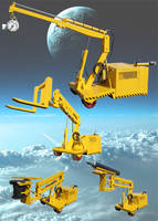 RBC-3000SPBLL-M Convertible Mobile Crane comes with swivel eye hook.