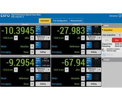 Optical Power Meters simplify and automate complex testing routines.