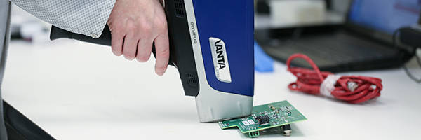 Vanta™ Series XRF Analyzers meet IP65 standards.