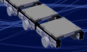 ZP Pressure Accumulation Conveyor eliminates creation of back pressure.